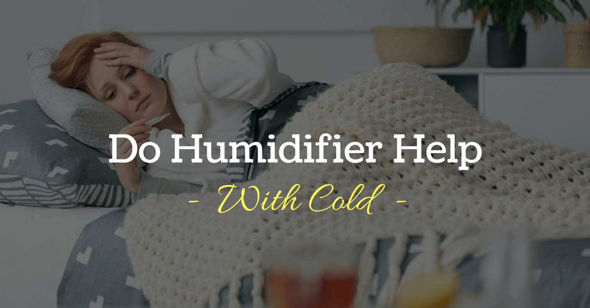 To Humidify or Not To Humidify: Do Humidifiers Help With Colds